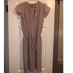 Nude H&M dress worn once